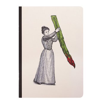 A5 Arti Notebooks - Miss Asparagus