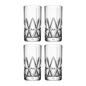 Peak Highball Glasses - Set of 4