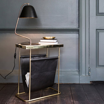 Bell Table Lamp - Black