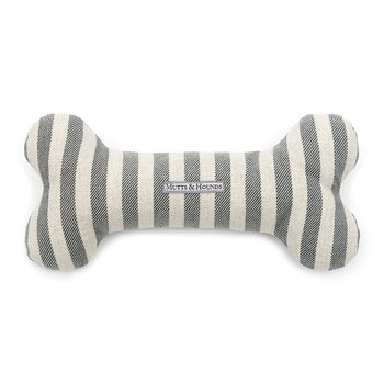 Brushed Cotton Bone Toy - Flint Stripe