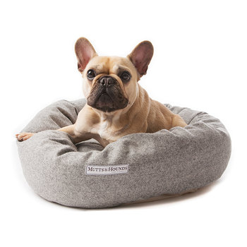 Tweed Donut Bed - Stoneham