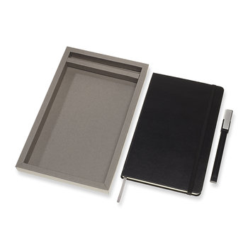Bundle Notebook & Pen Set - Black