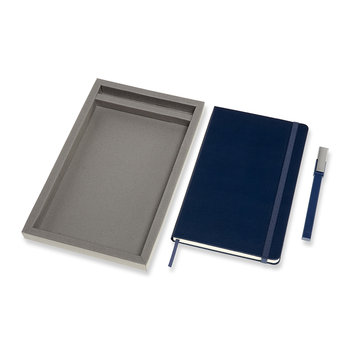 Bundle Notebook & Pen Set - Blue