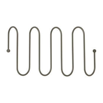 Curl Coat Rack - Steel Gray