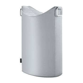 Frisco Laundry Bin - Silver Grey