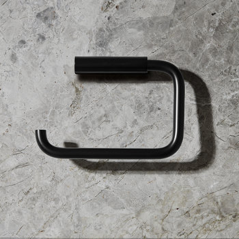 Modo Toilet Paper Holder - Black
