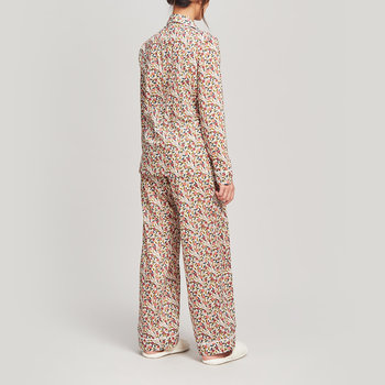 Valencia Tana Pyjama Set - Cream