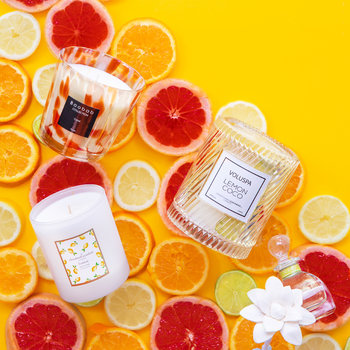 Macarons Icon Candle - Lemon Coco - 240g