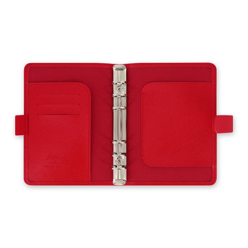 Personal Saffiano Notebook - Poppy