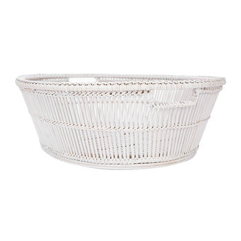 Elsa Basket - White