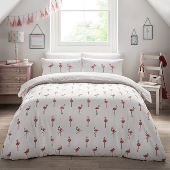 Flamingos Quilt Set