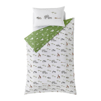 On Safari Duvet Set