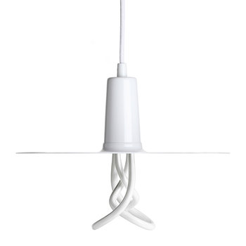 Drop Hat Shade with 001 LED Bulb
