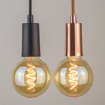 Whirly Wyatt LED-Glühbirne - Gold