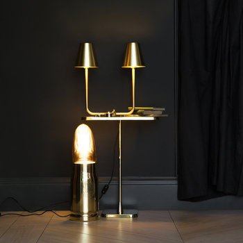 Bio Table Lamp - Brass