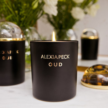 Oud Candle & Paperweight