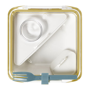 Box Appetit Lunch Box with Fork - Honey