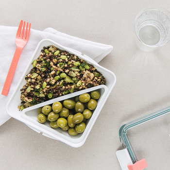 Box Appetit Lunch Box with Fork - Ocean