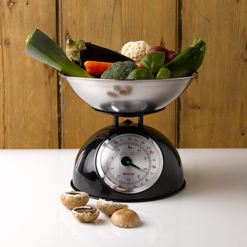 Mechanical Scales with 2L Bowl - Black
