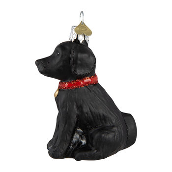Little Labrador Tree Decoration - Black