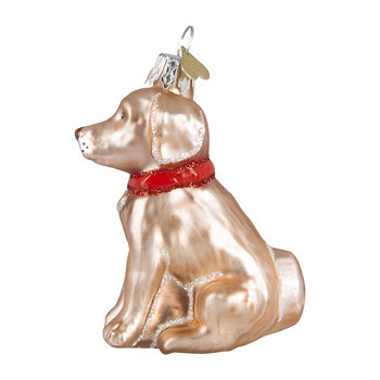 Little Labrador Tree Decoration - Golden