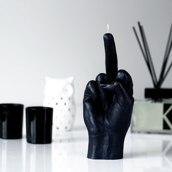 'Fcuk you' Candle - Black