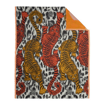 Tigris Throw - 135x180cm - Flame