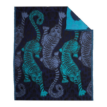 Tigris Throw - 135x180cm - Navy