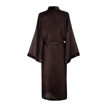 Silk Bathrobe - Wine