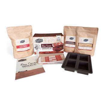 Make Your Own Raw Cacao Chocolate Kit