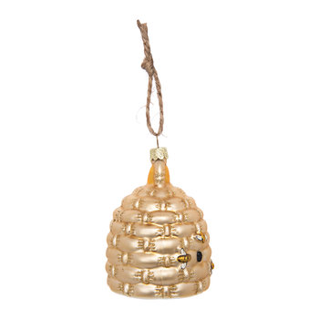 Woven Bee Nest Tree Decoration