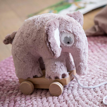 Fanto the Elephant Pull-along Toy - Vintage Rose