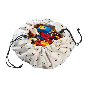 Mini 2in1 Toy Storage and Play Mat - Cherry