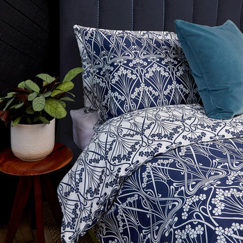 Ianthe Duvet Set - Navy