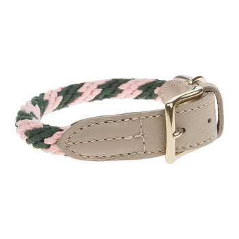 Rock Candy Rope Collar - Flamingo