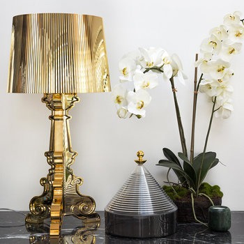 Bourgie Lamp - Gold