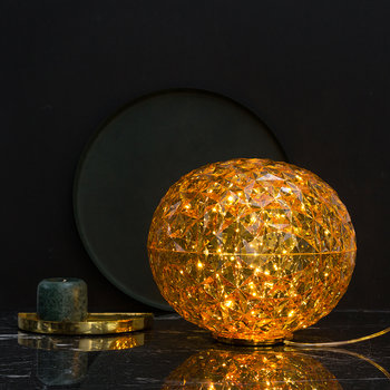 Planet Low Table Lamp - Gold