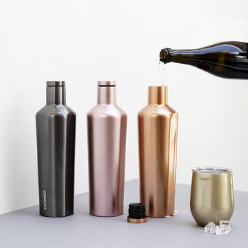 Metallic Collection Canteen - Rose - 750ml