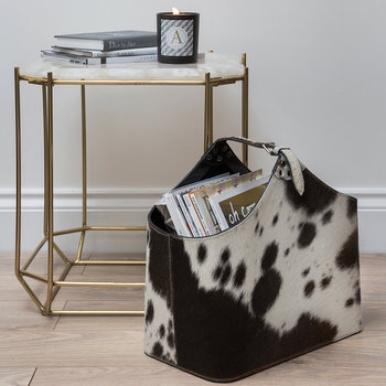 White Quartz Side Table