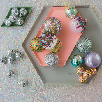 Pearl Bauble - Set of 4 - Lilac