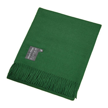 Baby Alpaca Throw - Green