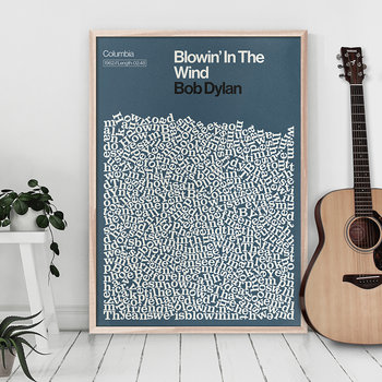 Blowin' In The Wind Print - A2