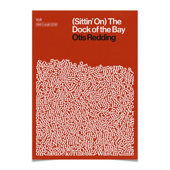 Dock of the Bay Print - A2