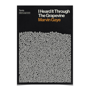 I Heard It Through The Grapevine Print - A2