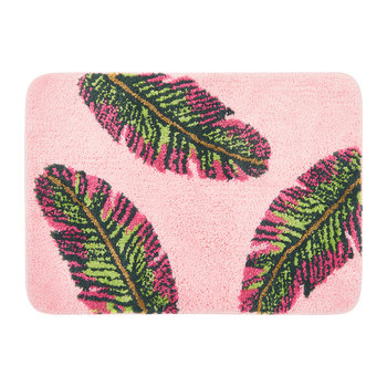 Banana Leaf Bath Mat - Pink