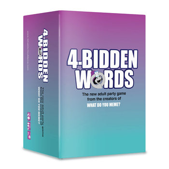 4-Bidden Words Adult Party Game