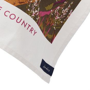 Kitchen Tea Towel - White Dawn - Ramble In The Country