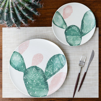 Fabbro Prickly Pear Dinner Plate