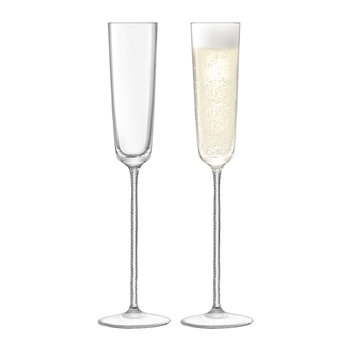 Champagne Theater Champagne Flute - Set of 2