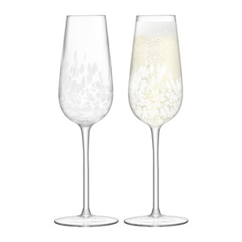 Stipple - Champagne Flute - Set of 2